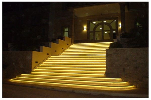 Outdoor LED Strip using for stairs decoration