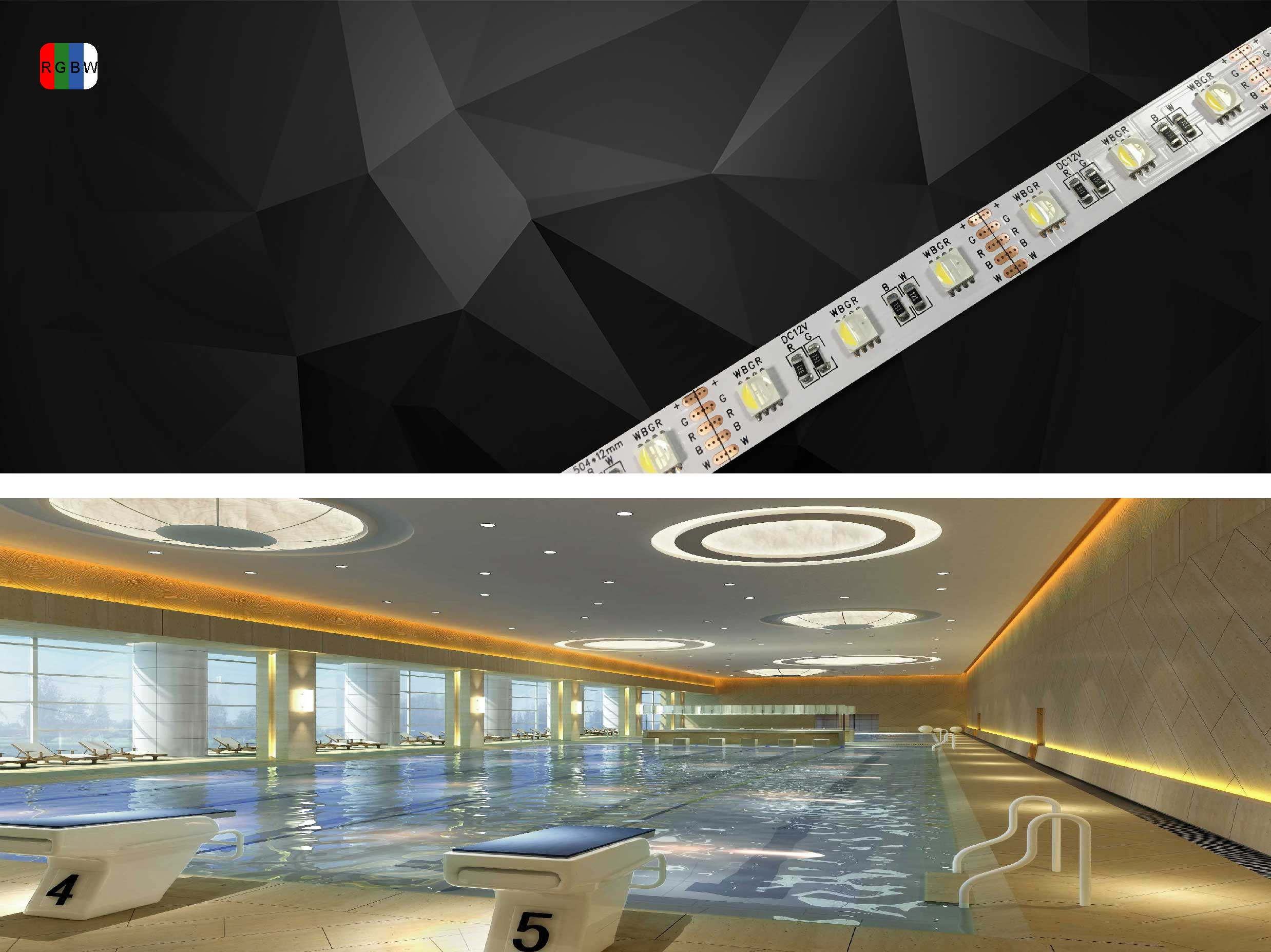 RGBW LED strip —SH60LA1