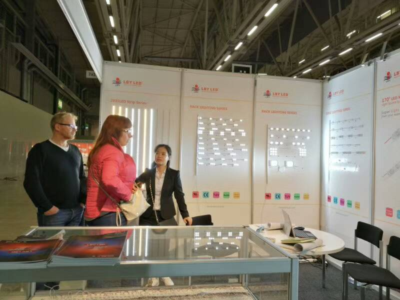 LED Module and strip manufacturer distributor, Fair ValoLight Finland